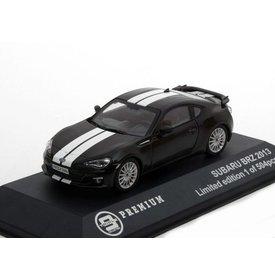 Triple 9 Collection Modellauto Subaru BRZ 2013 schwarz mit weiße Streifen 1:43 | Triple 9 Collection