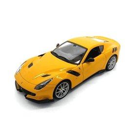 Bburago Modelauto Ferrari F12tdf geel 1:24 | Bburago