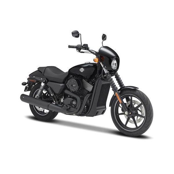 Modell-Motorrad Harley Davidson Street 750 - 2015 - Schwarz - 1:12 #32333 B