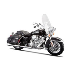 Maisto Model motorcycle Harley Davidson FLHRC Road King Classic 2013 vlack 1:12 | Maisto