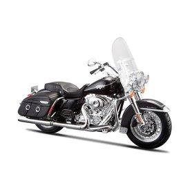 Maisto Modell-Motorrad Harley Davidson FLHRC Road King Classic 2013 schwarz 1:12 | Maisto