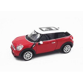 Welly Modelauto Mini Cooper S Paceman rood 1:24 | Welly