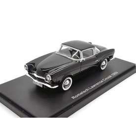 BoS Models Modellauto Rometsch Lawrence Coupe 1959 schwarz 1:43 | BoS Models