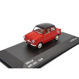 WhiteBox Modelauto Mikrus MR-300 1958 rood 1:43 | WhiteBox