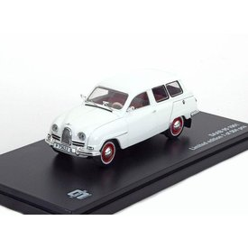 Triple 9 Collection Model car Saab 95 1961 white 1:43 | Triple 9 Collection
