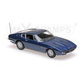 Maxichamps Modelauto Maserati Ghibli Coupe 1969 donkerblauw 1:43 | Maxichamps