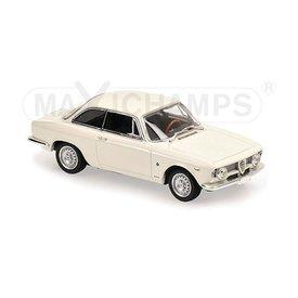 Maxichamps Modellauto Alfa Romeo Giulia Sprint GTA 1965 weiß 1:43 | Maxichamps