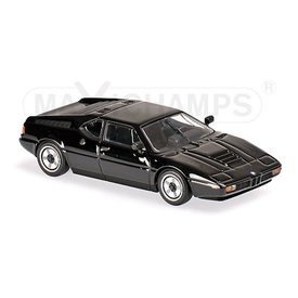 Maxichamps Modellauto BMW M1 1979 schwarz 1:43 | Maxichamps