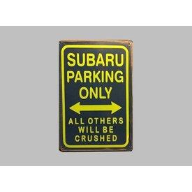 Parking Sign Subaru 20x30 cm