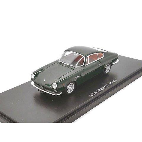 Modelauto ASA 1000 GT 1962 donkergroen 1:43 | BoS Models