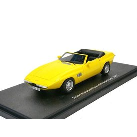 BoS Models Modelauto Intermeccanica Indra Spider 1971 geel 1:43 | BoS Models