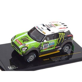 Ixo Models Mini All 4 Racing No. 302 2013 (Winnaar Dakar) 1:43