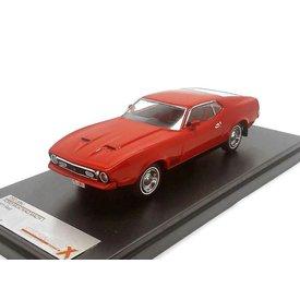 Premium X Modelauto Ford Mustang Mach 1 1971 rood 1:43 | Premium X