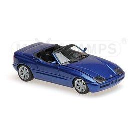 Maxichamps Modellauto BMW Z1 (E30) 1991 blau metallic 1:43 | Maxichamps