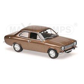 Maxichamps Model car Ford Escort I 1968 brown metallic 1:43 | Maxichamps