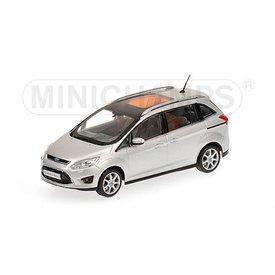 Minichamps Modelauto Ford Grand C-Max 2010 zilver 1:43 | Minichamps