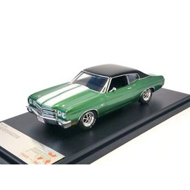 Premium X Modelauto Chevrolet Chevelle SS 1970 groen 1:43 | Premium X