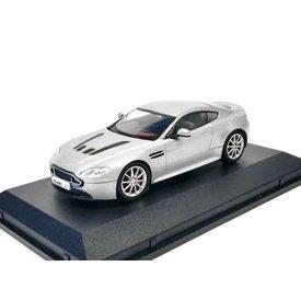 Oxford Diecast Modelauto Aston Martin V12 Vantage S zilver 1:43 | Oxford Diecast