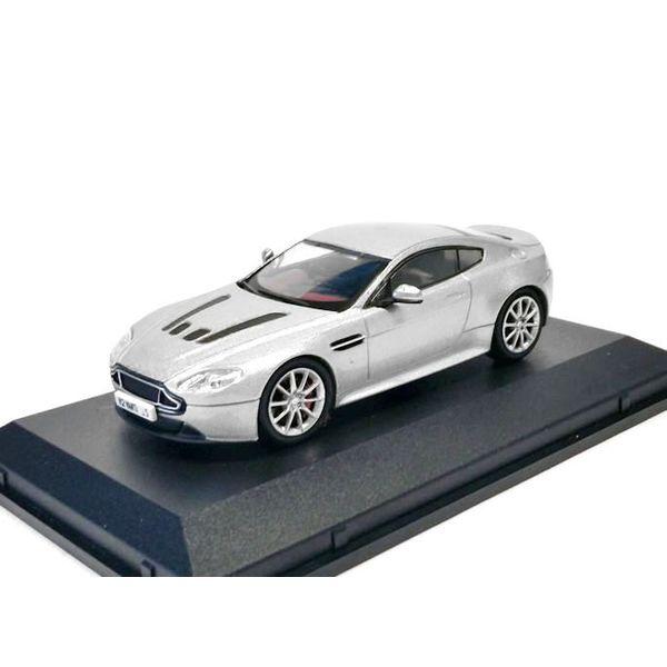 Model car Aston Martin V12 Vantage S silver 1:43   Oxford Diecast