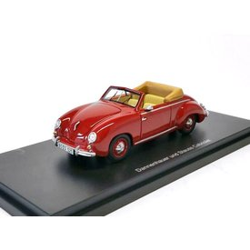 BoS Models Model car Dannenhauer & Stauss (VW) Cabriolet red 1:43 | BoS Models