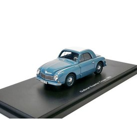 BoS Models Modelauto Gutbrod Superior Coupe 1953 blauw 1:43 | BoS Models