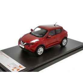 Premium X Model car Nissan Juke 2015 red metallic 1:43 | Premium X