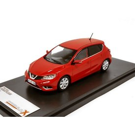 Premium X Model car Nissan Pulsar 2015 red 1:43 | Premium X