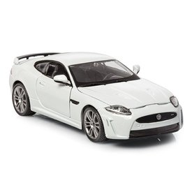 Bburago Model car Jaguar XKR-S white 1:24 | Bburago