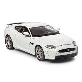 Bburago Modellauto Jaguar XKR-S weiß 1:24 | Bburago