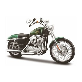 Maisto Model motorcycle Harley Davidson XL1200V 72 2012 green 1:12 | Maisto