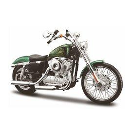 Maisto Modell-Motorrad Harley Davidson XL1200V 72 2012 grün 1:12 | Maisto