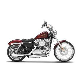 Maisto Modell-Motorrad Harley Davidson XL1200V Seventy Two 2012 rot 1:12 | Maisto