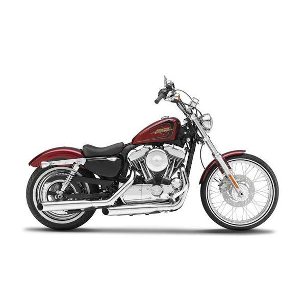 Modell-Motorrad Harley Davidson XL1200V Seventy Two 2012 rot 1:12 | Maisto