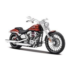Maisto Model motorcycle Harley Davidson CVO Breakout orange 2012 1:12 | Maisto