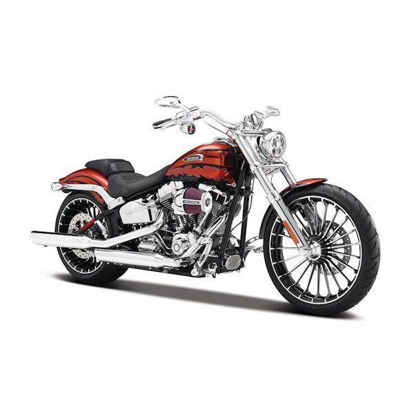Modell-Motorrad Harley Davidson CVO Breakout orange 2012 1:12 | Maisto