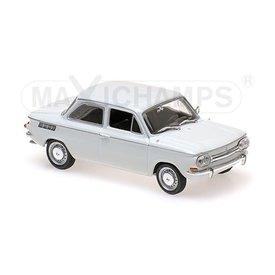 Maxichamps Modellauto NSU TT 1967 weiß 1:43 | Maxichamps
