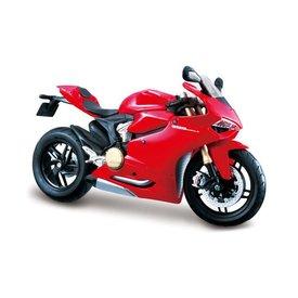 Maisto Modell-Motorrad Ducati 1199 Panigale 2012 rot 1:12 | Maisto
