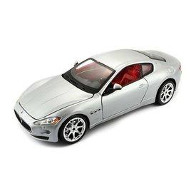 Bburago Modelauto Maserati GranTurismo zilver 1:24 | Bburago