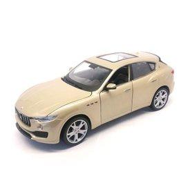 Bburago Model car Maserati Levante gold 1:24 | Bburago