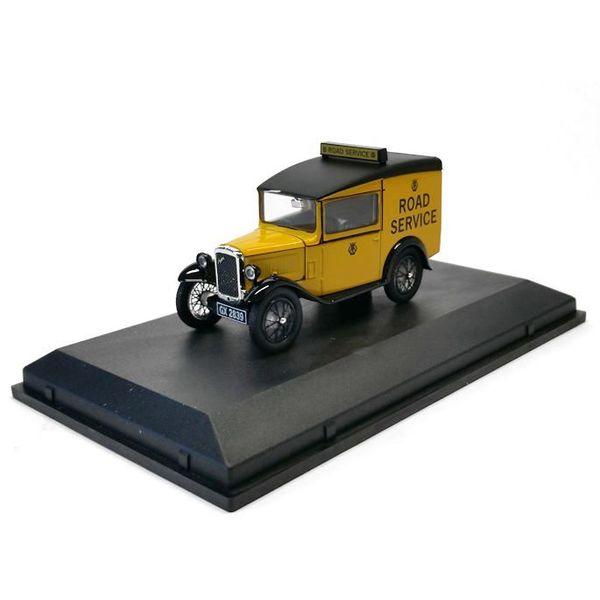 "Modellauto Austin Seven RN Van ""Road Service"" 1:43   Oxford Diecast"