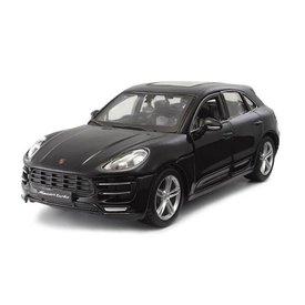 Bburago Modelauto Porsche Macan zwart 1:24 | Bburago