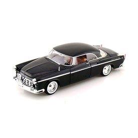 Motormax Modelauto Chrysler C300 1955 zwart 1:24 | Motormax