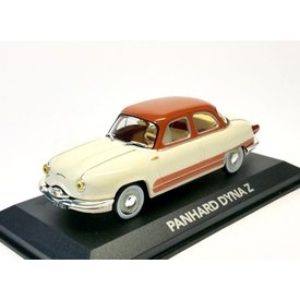 Atlas Model car Panhard Dyna Z cream/brown 1:43 | Atlas