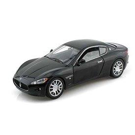 Motormax Modellauto Maserati GranTurismo schwarz 1:24 | Motormax
