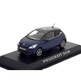 Norev Modellauto Peugeot 208 dunkelblau 1:43 | Norev