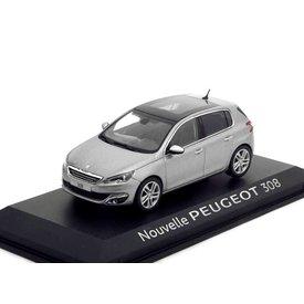 Norev Modelauto Peugeot 308 grijs metallic 1:43 | Norev