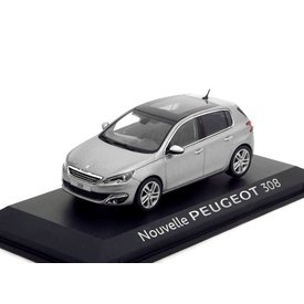 Norev Modellauto Peugeot 308 grau metallic 1:43 | Norev