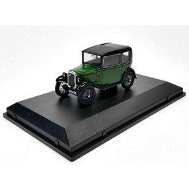 Oxford Diecast Modelauto Austin Seven RN Saloon groen/zwart 1:43 | Oxford Diecast