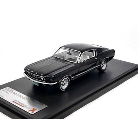 Premium X Model car Ford Mustang GT Fastback 1967 black 1:43 | Premium X