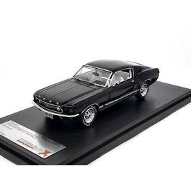 Premium X Modelauto Ford Mustang GT Fastback 1967 zwart 1:43 | Premium X
